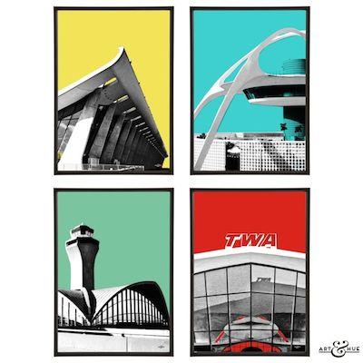 Modernist airports Art & Hue