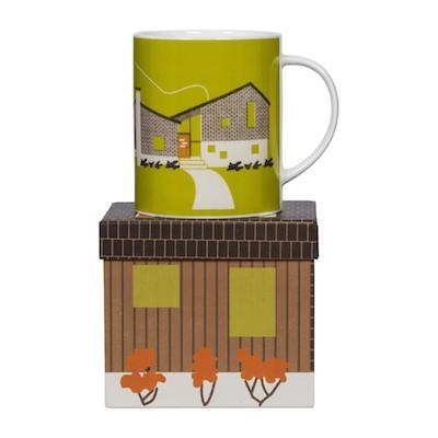 Homestead mug magpie