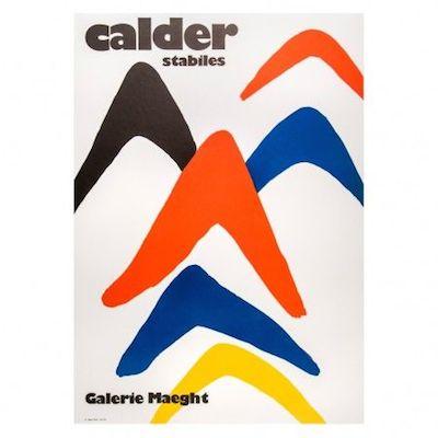 Alexander Calder poster