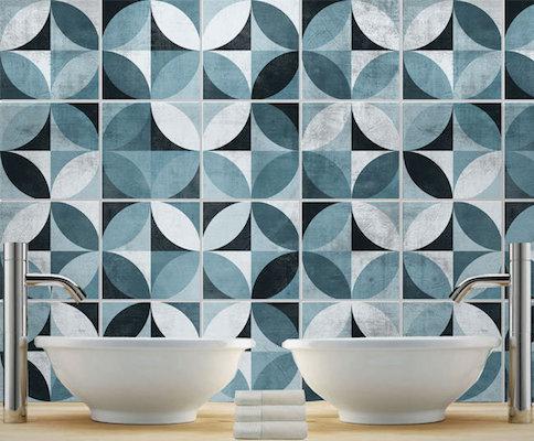 MidCentury tile stickers