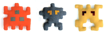 Invaders_softtoys