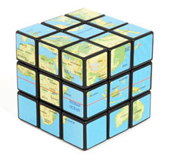 Retro To Go World Map Rubik s Cube from retrotogo.com