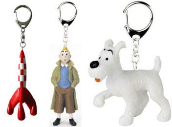 Tintin_keyrings