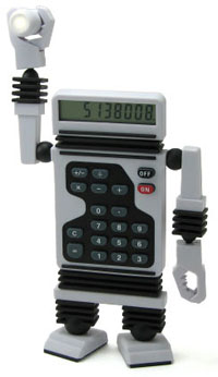 Robot_calculator