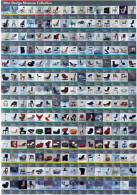 Vitra Design Museum Collection Poster Retro To Go