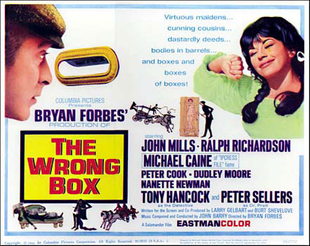 Cinedelica: The Wrong Box (1966)