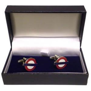 Retro To Go: London Underground Roundel cufflinks