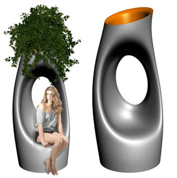 switched on set philippe starck holly all vase almost. Black Bedroom Furniture Sets. Home Design Ideas