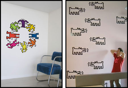 High Quality Fancy Decorating Your Home With Some 80s Style Street Art? You Can With  These Superb Keith Haring Wall Decals. Part 20