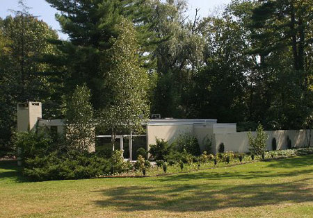For sale: Philip Johnson-designed mid-century house in New Canaan ...