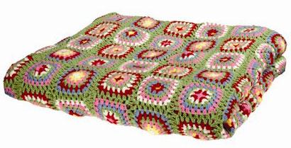 Beginner Pattern - Learn To Crochet a Baby Blanket or Lapghan