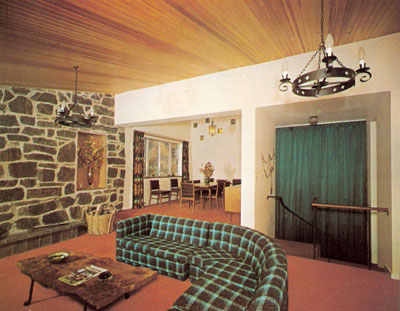 Build your own 70s house retro to go for Interior design 70s style