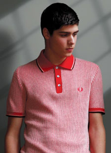 b577e0eb Fred Perry Knitted Polo Shirt - Retro to Go