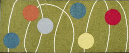 Ikea's Koge 60s-style rug - Retro to Go