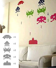 Spaceinvaders_walldecals